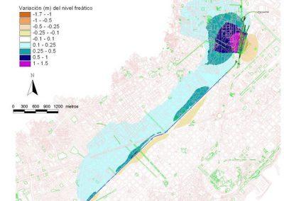 Infraestructuras urbanas soterradas en medios saturados