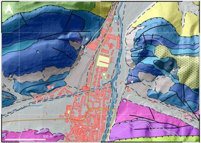 Cartografía geológica de Ezcaray