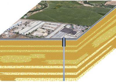 Abastecimiento con aguas subterráneas a la planta de Schweppes en Toledo.
