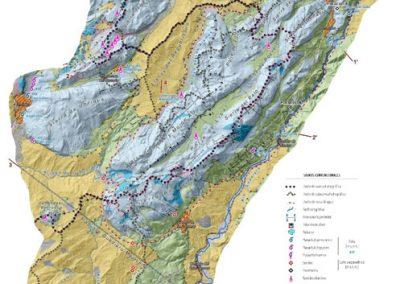 Evaluación de recursos hídricos en las masas de agua subterránea intercuenca de Andalucía